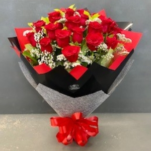 Deluxe 25 Red Rose Bouquet